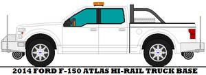 2014 Ford F-150 Atlas Hi-rail Truck Base