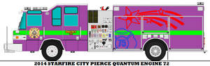 2014 Starfire City Pierce Quantum Engine 72