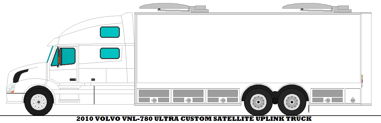 Custom 2018 F 150 >> 2010 Volvo VNL-780 Ultra Custom Satellite Uplink by ...
