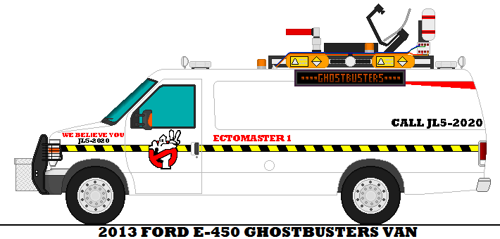 2013 Ford E 450 Ghostbusters Van By Mcspyder1 On Deviantart