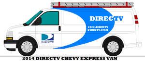 2014 Directv Chevy Express Van