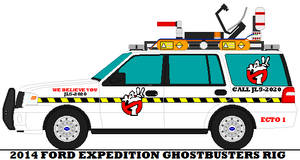 2014 Ford Expedition Ghostbusters Rig