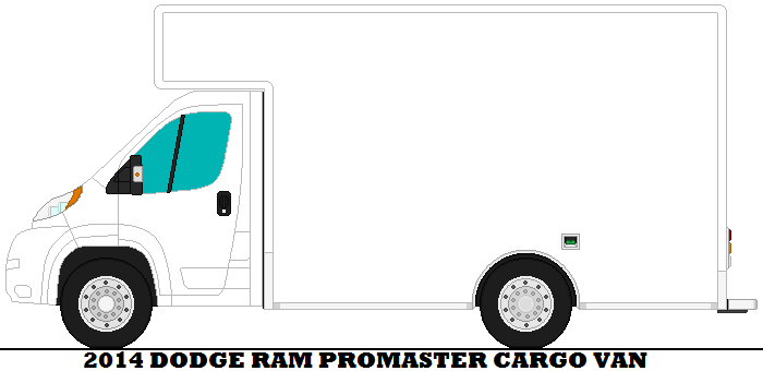 2014 dodge ram promaster cargo van by mcspyder1 on deviantart. Black Bedroom Furniture Sets. Home Design Ideas