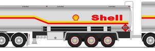 1980 Kenworth K100 Shell Australian Fuel Train