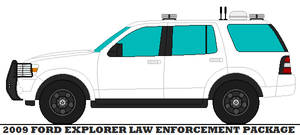 2009 Ford Explorer Law Enforcement Package