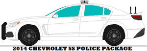 2014 Chevrolet SS Police Package