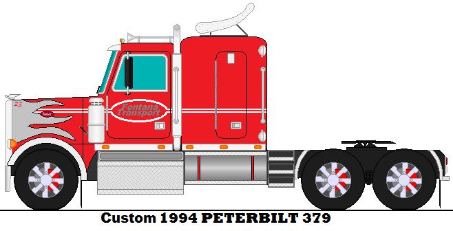 Custom Peterbilt 379 Drawings