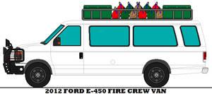 2012 Ford E-450 Fire Crew Van