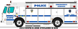 2012 NYPD E-One Cyclone II ESU