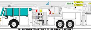 2016 Spyder Valley Mfg FT101 Bronto Skylift