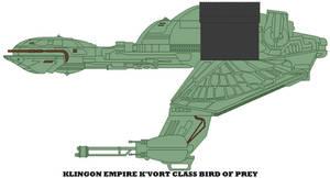 Klingon Empire K'vort Class Bird Of Prey