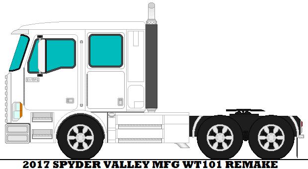 2017 Spyder Valley Mfg WT101 Remake by mcspyder1