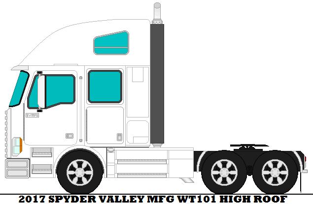 2017 Spyder Valley Mfg WT101 High Roof by mcspyder1