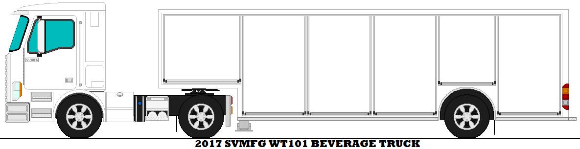 2017 SVMFG WT101 Beverage Truck by mcspyder1