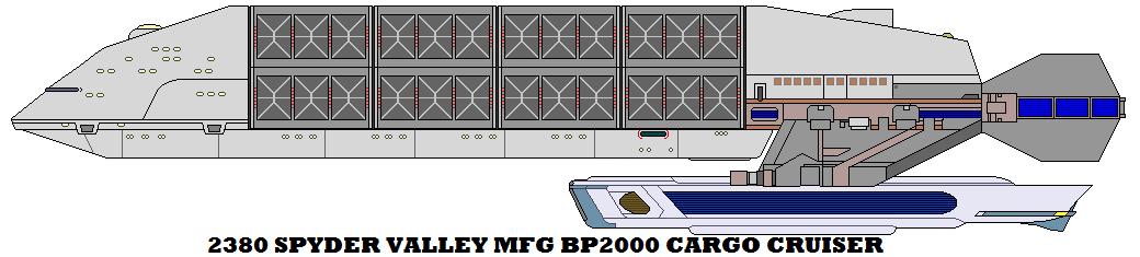 2380 Spyder Valley Mfg BP2000 Cargo Cruiser by mcspyder1