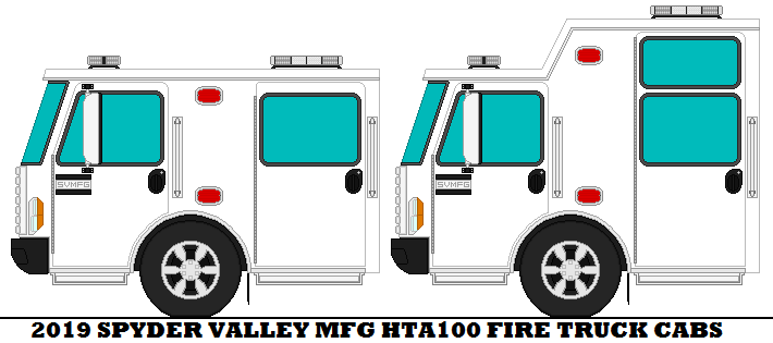 2019 Spyder Valley Mfg HTA100 Fire Truck Cabs by mcspyder1 on DeviantArt
