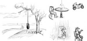 OC Doodles 2 by jo-shadow