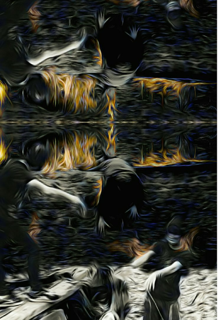 Gateway to Hell- Collaberation with Texas Panda by Littlemoments86