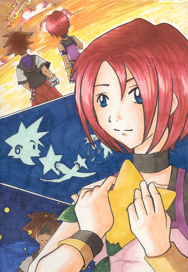 kh kairi - intertwined by hooded-unknown