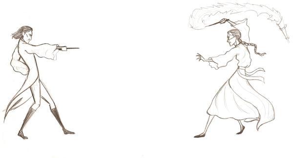 Professor Snape vs Professor Mcgonagall Snape Mcgonagall Battle by