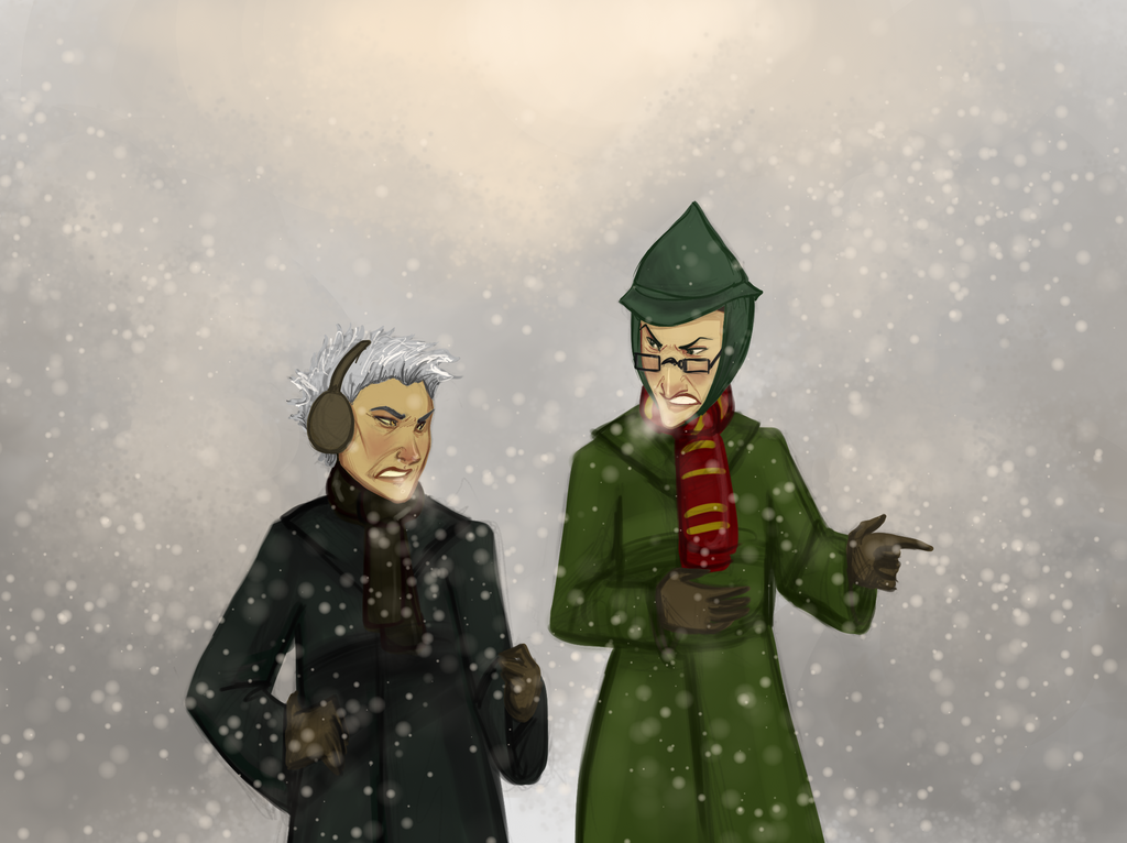 Quidditch Arguments by whutnot