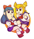 Pop Team Epic (Popuko and Pipimi)