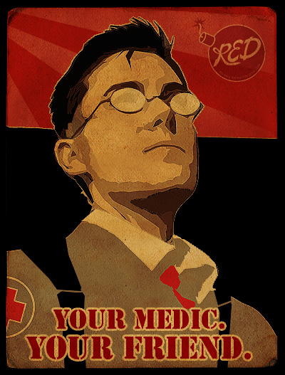 Medic cosplay teaser by PropMedic