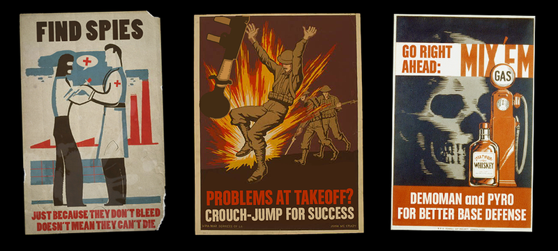 Tf2 Spray Tf2 Poster Spray Set 2 by