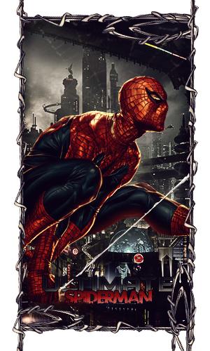 Ultimate Spiderman by da-hazard