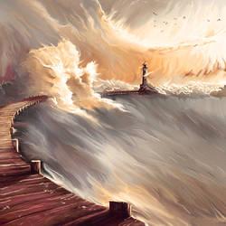 Abandoned Lighthouse by da-hazard