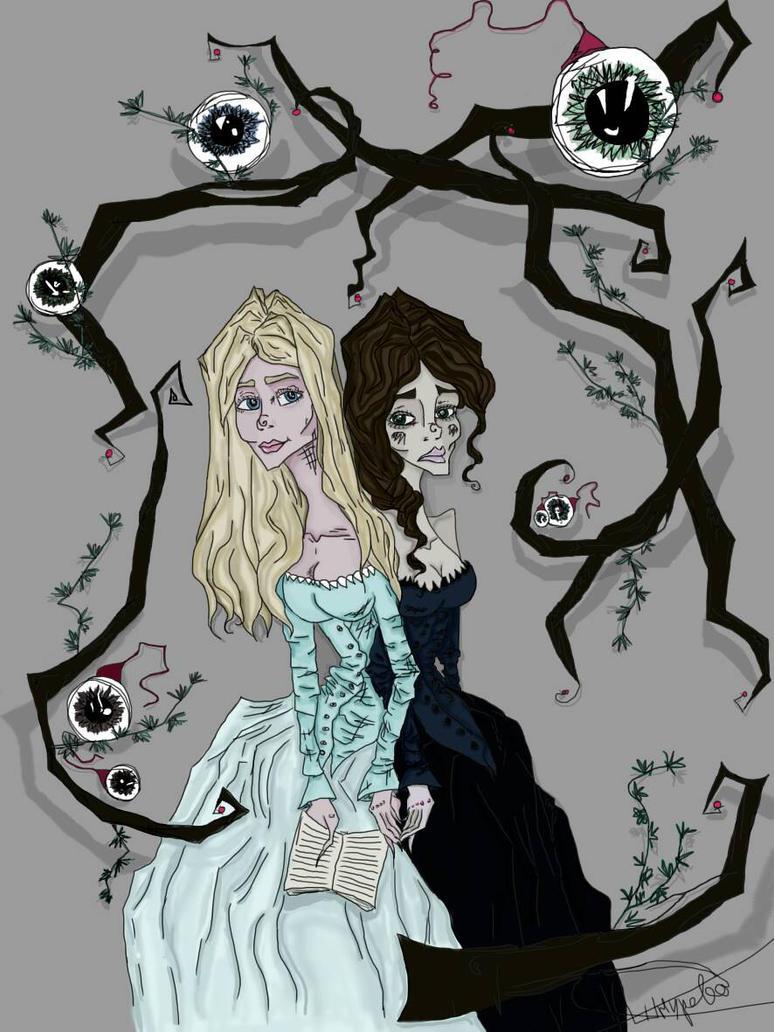 Siamese twins  by CarolinaShnurova