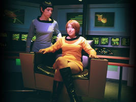 Captain and Her Commanding Officer