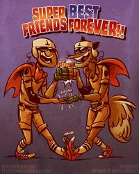 Super Best Friends..