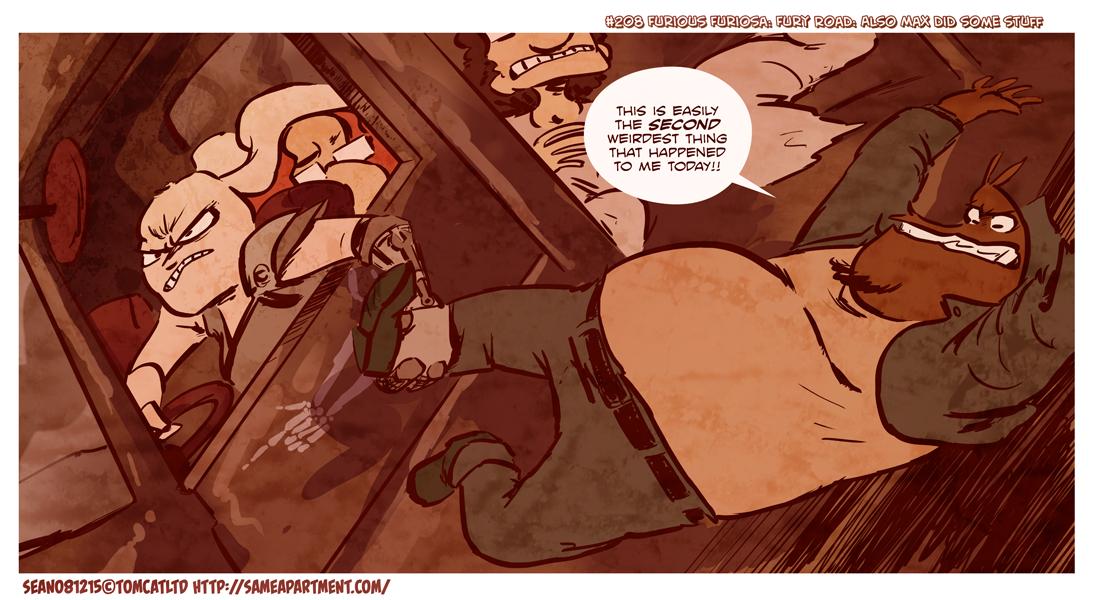 Same Apt pg 208 Furious Furiosa by ohTHATsean