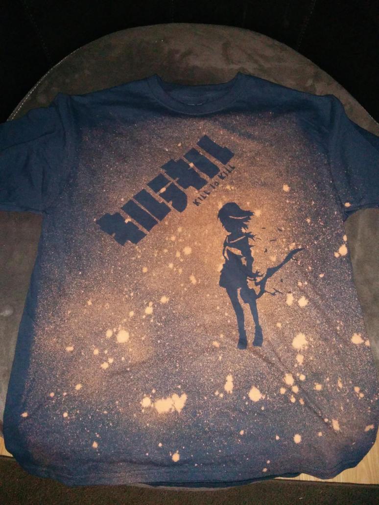 Kill La Kill Ryuko - Blech Stencil Shirt by Dragocyber