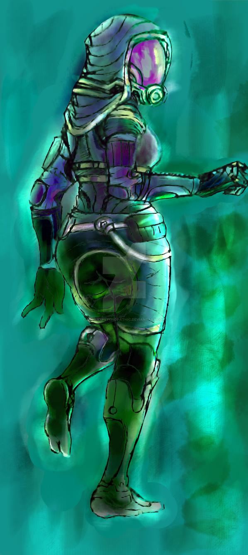 -wIp- Firebase Ghost. Acid Rain. by SolanxPsychopathic