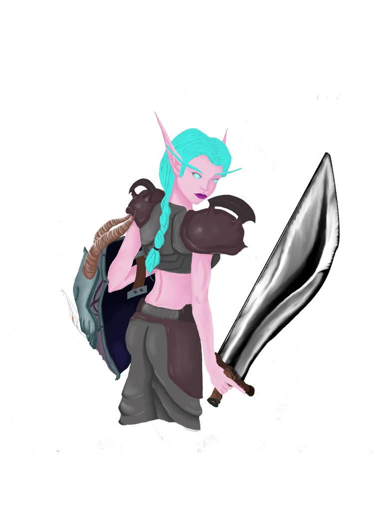 Fehana, Protection Warrior by Senshisoldier on DeviantArt