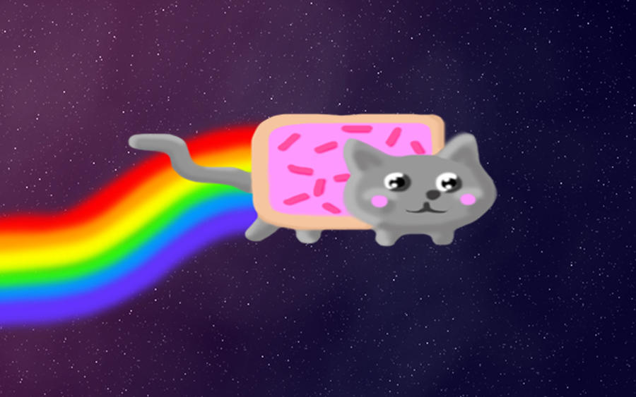 Nyan Cat Gif Background Nyan Cat Desktop Background by