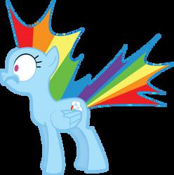 Rainbow Dash...SURPRISE by Senshisoldier