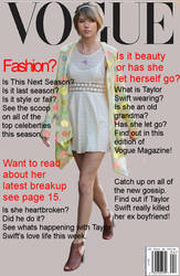 Magazine cover by Julia1742