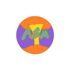Atomic Supermen Basketball Logo by Julia1742