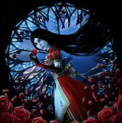Red rose by Phoenix-zhuzh