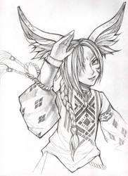 BnS: Tomo Ginko by Phoenix-zhuzh