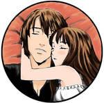 sleepy Kuroe and Misaki
