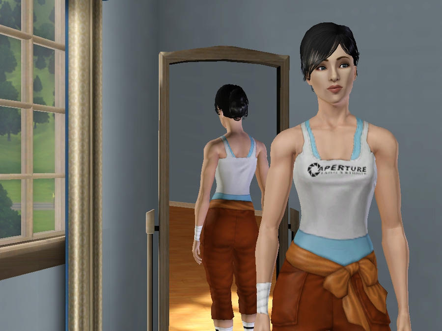 Chell Sim by BenGrunder