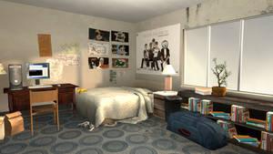 Bedroom SFM Render 2 by BenGrunder