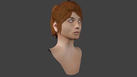 Blender Custom Head Model by BenGrunder