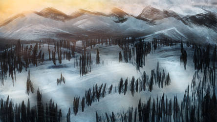 Wintercloud view by BenGrunder