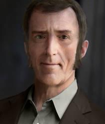 Cave Johnson Portrait