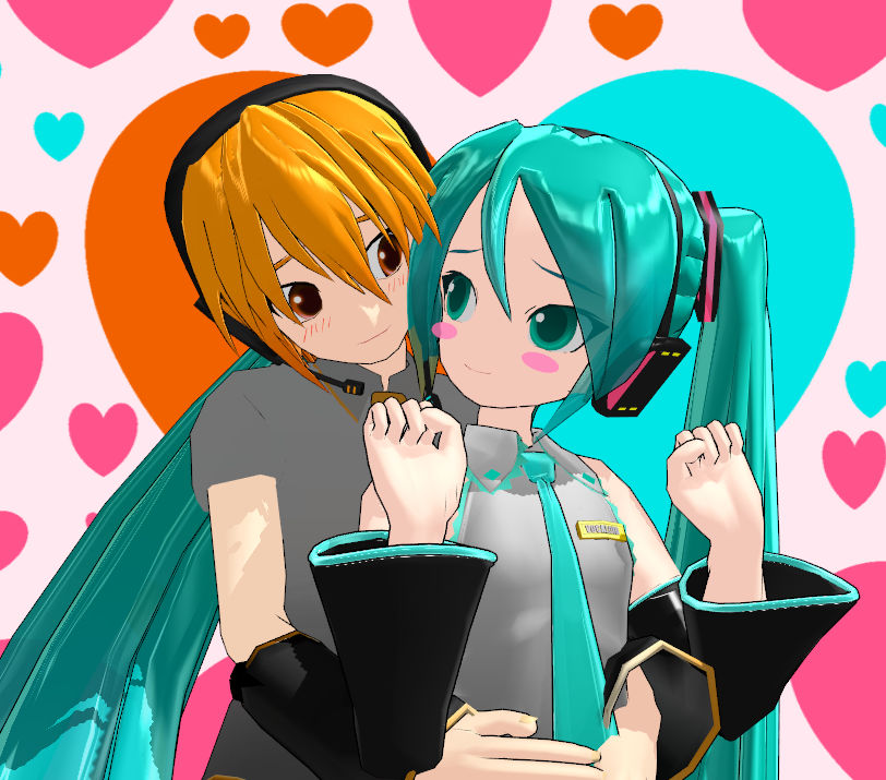 Nestie is here for Miku